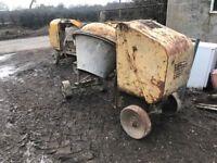 5x lister cement mixers diesels export also welders