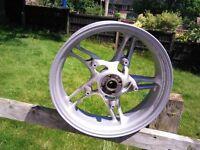 BMW R850/1150 rear wheel.