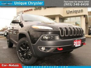 2016 Jeep Cherokee Trailhawk | 4X4 | KEYLESS ENTRY | GREAT FIND