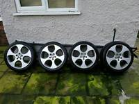"Genuine 18"" BBS MONZA 2 alloys wheels"