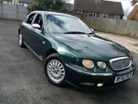 Rover 75 2.5 v6 automatic connoisseur huge spec 67k mileage full service history