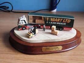 Eddie Stobart 30th Anniversary Model by Border Fine Arts - Limited Edition