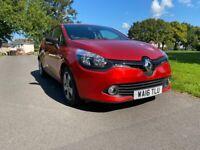 Renault Clio 1.2 Petrol Manual 5 Door Hatchback Red 2016 Stunning Car New Shape