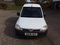 2008 VAUXHALL COMBO 1.7 CDTI CREW TWIN SIDE LOADERS AND REAR SEAT
