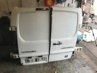 2007-2014 Citroen dispatch scudo expert n/s & o/s rear doors in great condition complete