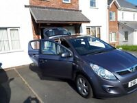 Hyundai i20 5DR Comfort 1.2L Low Mileage and Full Service History