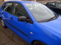 VW POLO, 1.2, just 71k miles, good car, cheap to run and insure