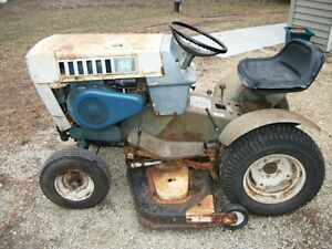 Sears Suburban Ss 14 Garden Tractor W 42 034 Deck And