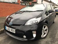 TOYOTA PRIUS T- SPIRIT 2013 FULL TOYOTA HISTORY UK MODEL 1 OWNER HPI CLEAR NOT HONDA 2012