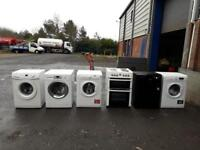 Selection of fully reconditioned washing machines,6 months warranty,1 year pat test £125-£150