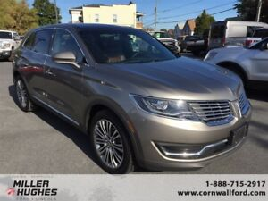 2016 Lincoln MKX Sensors, Camera, Heated Front & Rear Seats