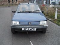Peugeot 205 1.1 - 1991 an old dog with no mot that is still running.