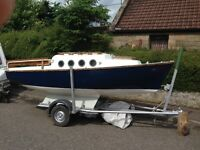 Boat trailer sailer