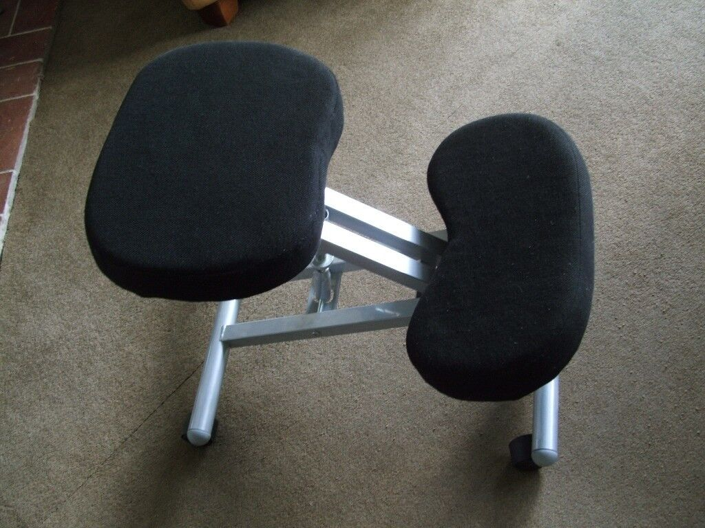 Kneeler Chair, Back saving posture chair, kneeling desk chair.