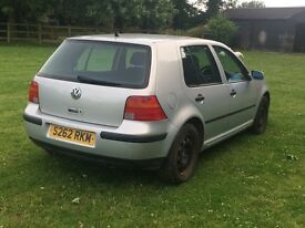 Volks wagon golf 1.9 tdi for spares