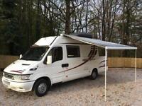 Iveco daily motorhome/van conversion self build New Van Forces sale