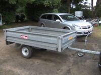 GALVANISED 6-6 X 4-0 FLATBED DROPSIDE TRAILER 500KG UNBRAKED.....
