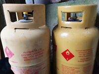Flo Gas Butane gas bottles x 2 full £ 20 each