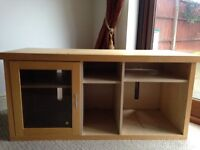 Wooden Media unit, perfect for large TV's