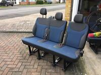 Renault trafic middle seat
