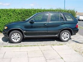 BMW X5 2001 DIESEL TOTALLY ORIGINAL CONDITION F.S.H MOT DEC ALL FIVE KEYS AND BOOKS WALLETS ECT