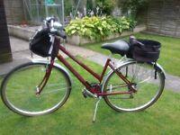 Ladies Raleigh pioneer bike