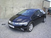 09 HONDA CIVIC SE 2.2 I-CTDI 5DOOR HATCHBACK, GOOD CONDITION, *MOT TO JUNE 2019*