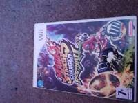 Wii game Mario stringers charged football