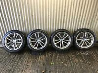 "Genuine 18"" BMW 5 Series M Sport G30 662 Staggered Alloy Wheels #1 - 5x112"