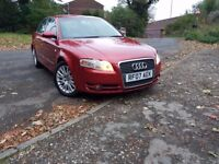 Audi A4 2.0 TDI Special Edition, Red colour, 2 owners, Excellent Car, Full service history