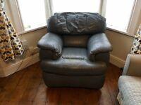 Grey armchair/lazy boy - free!