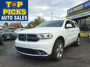 2015 Dodge Durango LIMITED, 4X4, LEATHER, SUNROOF, 20 WHEELS, DU
