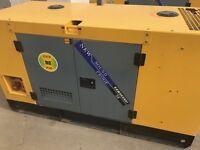 Generator 70 KVA 380v/240v unused bankrupt stock 2016 year