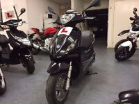 Piaggio Fly 3V 125cc Automatic Scooter, 1 Owner, Good Condition, ** Finance Available **