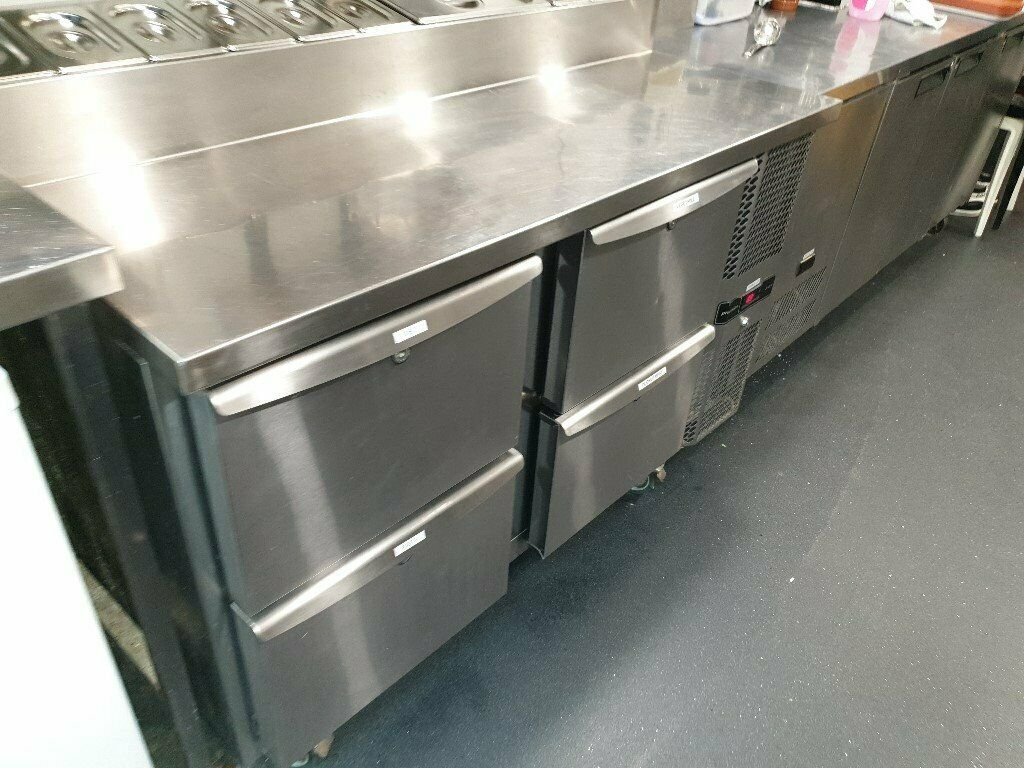 Precision Mcu211 Commercial Gastronome Saladette Counter Work Top Pizza Topping Fridge In Leeds City Centre West Yorkshire Gumtree