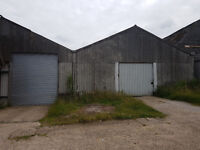 5000 Sqft Storage Barn workshop with 2 internal offices near main road