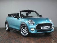 MINI CONVERTIBLE 1.5 Cooper [Pepper Pack, Reverse Camera] 2dr (turquoise) 2016