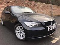 BMW 318i SE 2007 4 DOOR BLACK LEATHER INTERIOR [not a4 a3 c class 5 serries focus golf]