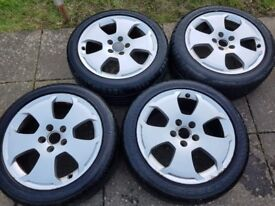 Audi A3 genuine alloys