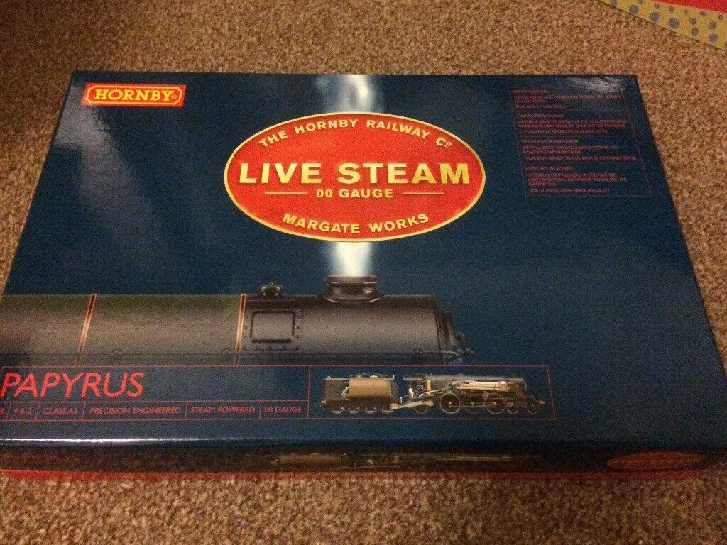 Very Rare Hornby Live Steam Papyrus | in North Walsham, Norfolk | Gumtree