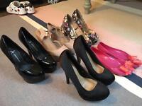 Ladies shoes size 3-4