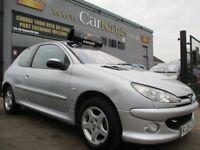 PEUGEOT 206 1.4 8v SE 3dr Auto (silver) 2005