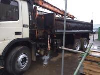 Volvo grab lorry