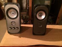 Pc speakers can be used for tv as well.