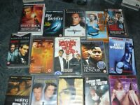 Job Lot of VHS Videos, Action, Thriller, Comedy, etc - 30+
