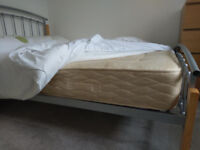 Double bed with good mattress