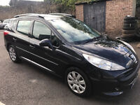 Peugeot 207s Sw 1.4 16v Petrol 57-plate 2008! 12mths Mot! Low Miles 55,000 with history! £850!!