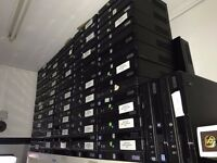 i3 computers power tested pallet of x100 unit complete mix memory no hdd