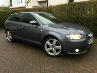 2007 57 AUDI A3 2.0 TDI S-LINE**FULL LEATHER**EL-PACK**MINT COND'N**#BMW#GOLF#SEAT#