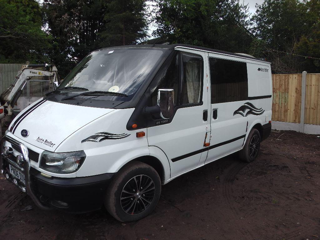 ford transit campervan in market drayton shropshire. Black Bedroom Furniture Sets. Home Design Ideas